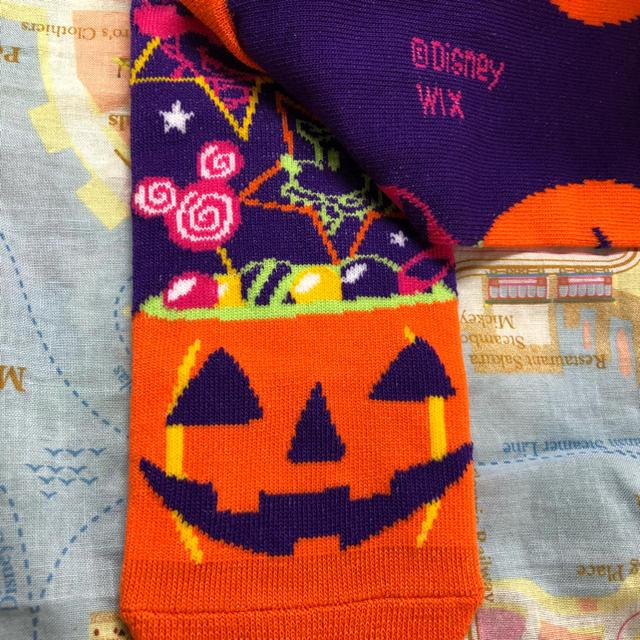 Disney(ディズニー)の未使用 ミッキー ミニー ハロウィン ディズニー ソックス ドラキュラ 靴下 レディースのレッグウェア(ソックス)の商品写真