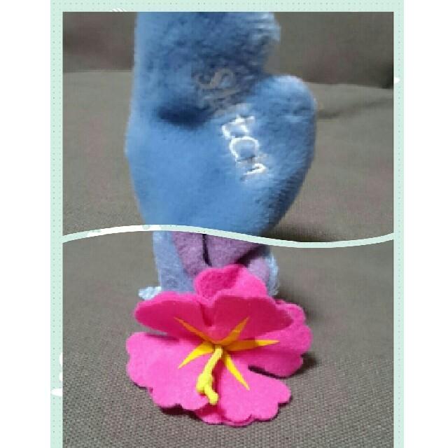 Disney(ディズニー)のDisney 髪飾り スティッチ エンタメ/ホビーのおもちゃ/ぬいぐるみ(キャラクターグッズ)の商品写真