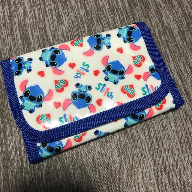 Disney(ディズニー)のスティッチの財布セット キッズ/ベビー/マタニティのこども用ファッション小物(財布)の商品写真