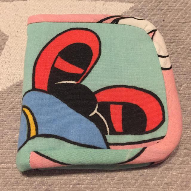 Disney(ディズニー)のハンドメイド二つ折り財布 ハンドメイドのファッション小物(財布)の商品写真