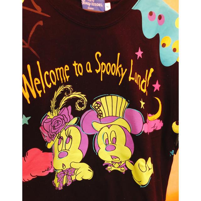 Disney(ディズニー)の売り切れ続出‼️2018年 Disney Hallo ween レディースのトップス(Tシャツ(半袖/袖なし))の商品写真