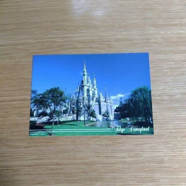 Disney(ディズニー)のディズニーランド シンデレラ城2 ポストカード エンタメ/ホビーのコレクション(その他)の商品写真