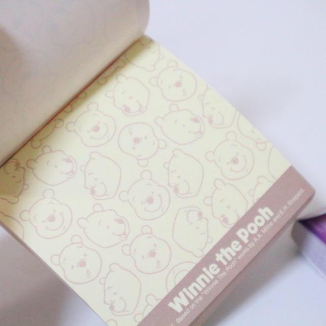 Disney(ディズニー)のプーさんミニメモ帳 専用ページ インテリア/住まい/日用品の文房具(ノート/メモ帳/ふせん)の商品写真