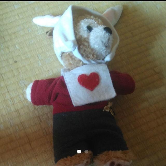 ダッフィー(ダッフィー)のダッフィーぬいぐるみポーチ エンタメ/ホビーのおもちゃ/ぬいぐるみ(ぬいぐるみ)の商品写真