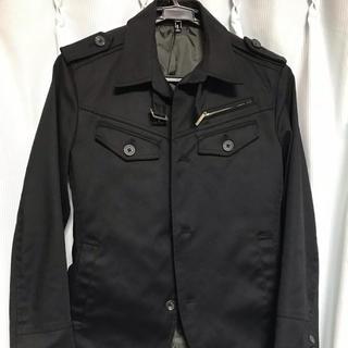 エイエスエム(A.S.M ATELIER SAB MEN)のジャケット ミリタリー ブラック(ミリタリージャケット)
