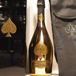 アルマンドバジ(Armand Basi)の新品正規品アルマンドブリニャック ブリュット750mlアルマンドゴールドGOLD(シャンパン/スパークリングワイン)