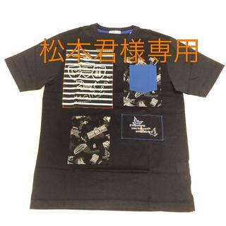 バジエスポーツ(VAGIIE SPORT)の【新品】バジエ(VAGIIE)メンズ ポケット付きプリントTシャツ(Tシャツ/カットソー(半袖/袖なし))