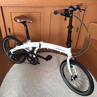 ダホン(DAHON)のダホン折りたたみ自転車M u P8 輪行バッグ付き(自転車本体)