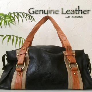◇美品◆ 高島屋購入 3.5万 高級牛革 レザーショルダーバッグ 肩掛け 鞄(ショルダーバッグ)
