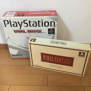 プレイステーション(PlayStation)のプレイステーション&ファイルファンタジーⅠ/Ⅱ(家庭用ゲームソフト)
