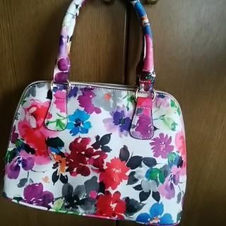 シマムラ(しまむら)の花柄2wayバッグ(ハンドバッグ)