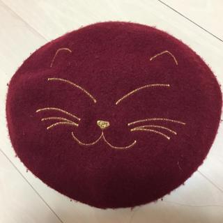 カシータ(casiTA)のキャット ベレー帽(ハンチング/ベレー帽)