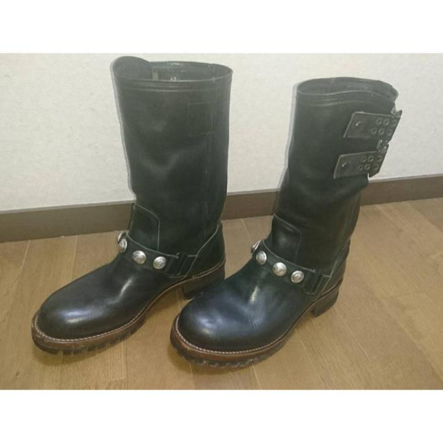 IZREEL(イズリール)のIZREEL イズリール エンジニアブーツ40 メンズの靴/シューズ(ブーツ)の商品写真