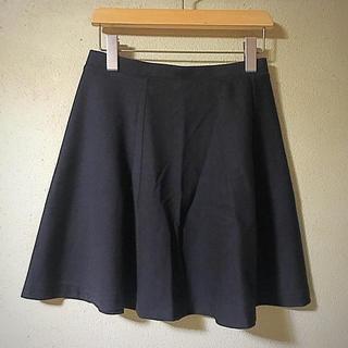 ユニクロ(UNIQLO)のUNIQLO フレアスカート☆新品未使用(ひざ丈スカート)