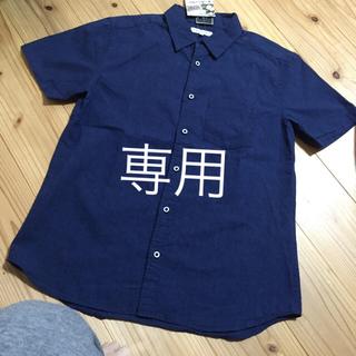 シマムラ(しまむら)の新品 メンズ シャツ size M(シャツ)