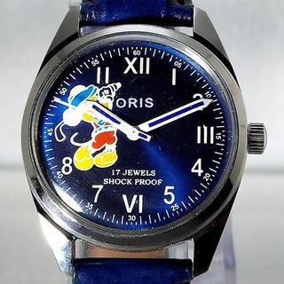 オリス(ORIS)のステキな文字盤 ミッキー & オリス 手巻き腕時計(腕時計(アナログ))