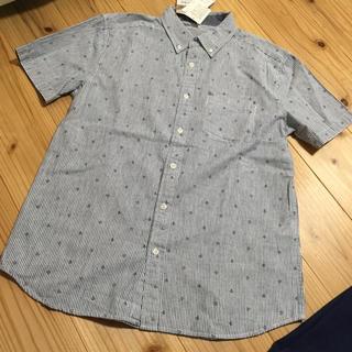 シマムラ(しまむら)の新品メンズ シャツ M ストライプ(シャツ)