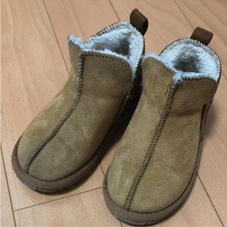 シマムラ(しまむら)の18.0cm キッズムートンブーツ(ブーツ)