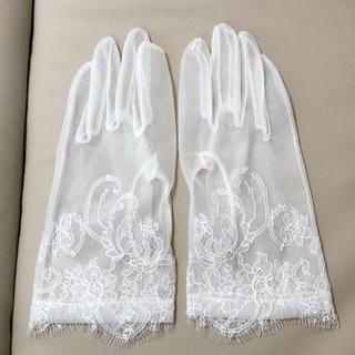 ヴェラウォン(Vera Wang)のショートグローブ ウェディンググローブ(手袋)