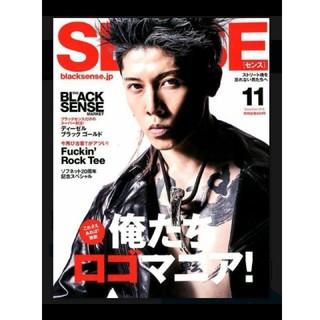 センス(SENSE)のsense 最新号(ファッション)