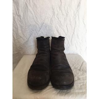 グイディ(GUIDI)のma+ エムエークロス ダービーバックジップブーツ 短靴 guidi カルペ(ブーツ)