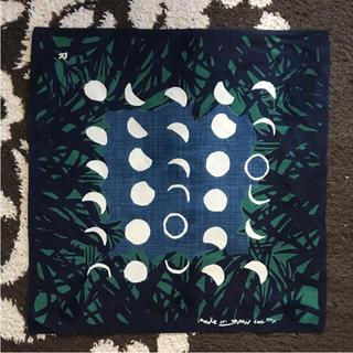 フォーティファイブアール(45R)の45rpm  バンダナ 季節のバンダナ お月見  美品(バンダナ/スカーフ)