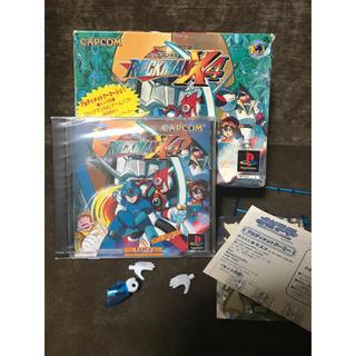 プレイステーション(PlayStation)のロックマンX4 スペシャルリミテッドパック 新品未開封(家庭用ゲームソフト)
