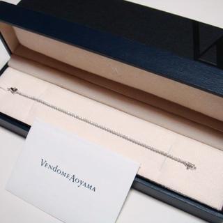 ヴァンドームアオヤマ(Vendome Aoyama)の【ヴァンドーム青山】K18WG&ダイヤモンド1.00ctテニスブレスレット(ブレスレット/バングル)