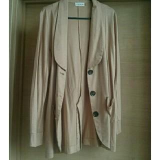 レプシィム(LEPSIM)のジャケット薄手 キャメル LEPSIM(テーラードジャケット)
