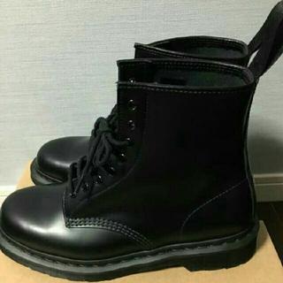 ドクターマーチン(Dr.Martens)のドクターマーチン ブーツ mono ブラック dr. Martens 8ホール(ブーツ)