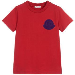 モンクレール(MONCLER)の週末セール!Moncler❤️2018AW新作!コットンロゴTシャツ★14Y(Tシャツ(半袖/袖なし))