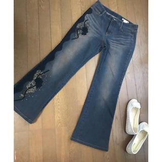 ジョーズジーンズ(JOE'S JEANS)の■大きいサイズSALE■ RENAULT.JEANS刺繍デニムパンツ♡(デニム/ジーンズ)