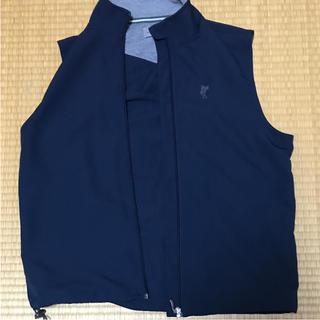 アシュワース(Ashworth)のゴルフ メンズ ASHWORTHアシュワーズ ベスト カラー紺色(ウエア)