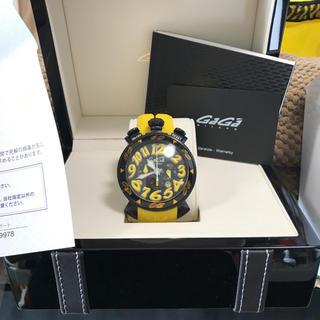 ガガミラノ(GaGa MILANO)のお値段下げました、ガガミラノ メンズ時計 ラバー(ラバーベルト)