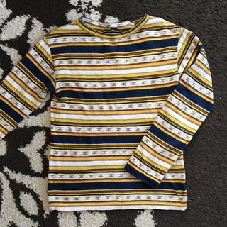 フォーティファイブアール(45R)の45R ナバホボーダーの908Tシャツ  今季美品  45rpm(カットソー(長袖/七分))