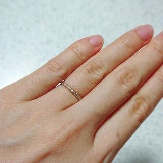 ヴァンドームアオヤマ(Vendome Aoyama)のヴァンドーム青山 K18PG ダイヤモンド リング 5号(リング(指輪))