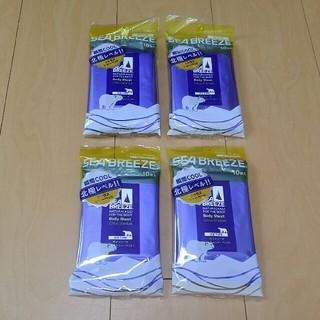 シーブリーズ(SEA BREEZE)の送料込み 新品未開封 シーブリーズ ボディシート 4個セット(制汗/デオドラント剤)