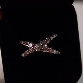 うなき様専用です。カシケイ ネイキッドリング K18  ダイヤ1カラット(リング(指輪))
