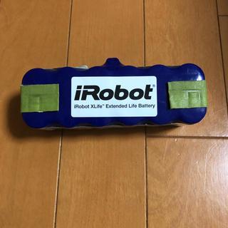 アイロボット(iRobot)のルンバ純正xlifeバッテリー  ブラシ フィルター4枚セット(掃除機)