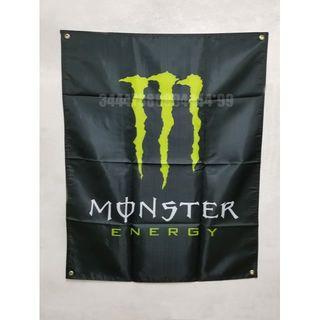 モンスターエナジー フラッグ バナー タペストリー 店舗 インテリア 旗 店旗(ロールスクリーン)