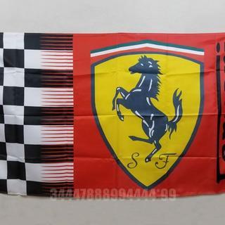 フェラーリ(Ferrari)のフェラーリ フラッグ 大判 90×150cm バナー タペストリー 旗(ロールスクリーン)