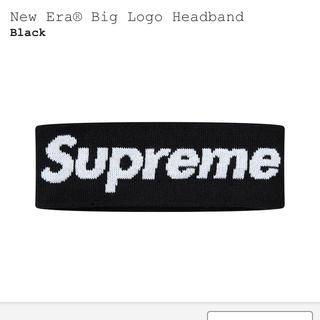 シュプリーム(Supreme)のsupreme New Era Big Logo Headband(バンダナ/スカーフ)