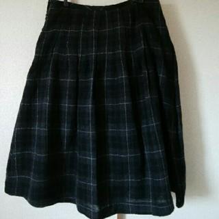 ムジルシリョウヒン(MUJI (無印良品))の無印良品 woolスカート(ひざ丈スカート)