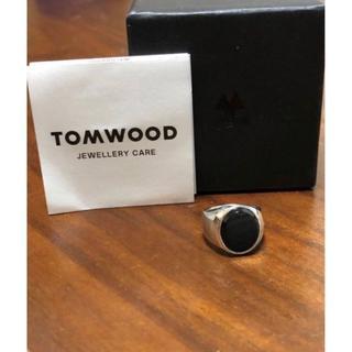 ロンハーマン(Ron Herman)の新品 TOMWOOD オニキスリング クロ8号 ロンハーマン(リング(指輪))