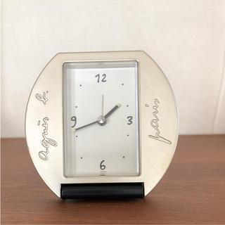 アニエスベー(agnes b.)のagnis b'  アニエスベー  の目覚まし時計(置時計)
