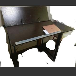 【処分品 18日処分】絵画用デスク イラストレーター 机(学習机)