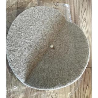 シマムラ(しまむら)の新品 ベレー帽 ベージュ ローリーズファーム.GU.ユニクロ.マウジー.H&M(ハンチング/ベレー帽)