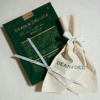 ディーンアンドデルーカ(DEAN & DELUCA)のDEAN&DELUCA☆GLOW保冷バッグ&ラッピング袋+リボン3本セット(その他)