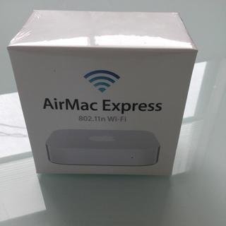 アップル(Apple)のApple MC414J/A AirMac Express(新品・未開封品)(PC周辺機器)