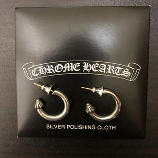 クロムハーツ(Chrome Hearts)のCHROME HEARTS クロムハーツ プレーンフープピアス 14k (ピアス(両耳用))